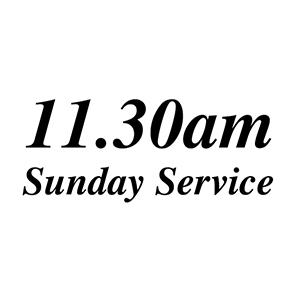 Sunday 11.30am