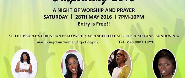 OUTPOURING 2016 – An Evening of Worship