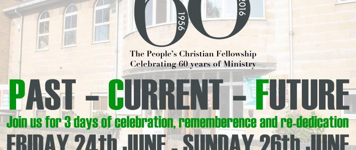 Giving Thanks for 60 years of Ministry