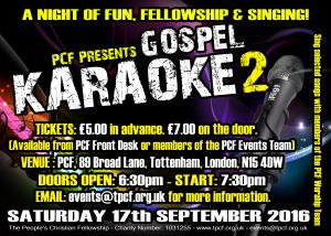 Gospel Karaoke Part 2