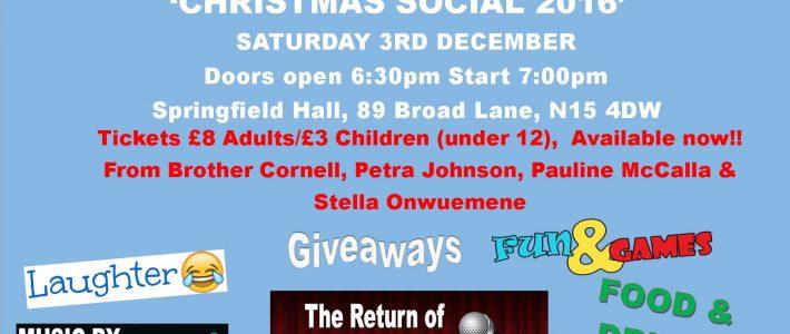 PCF Christmas Social