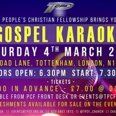 Gospel Karaoke 2017