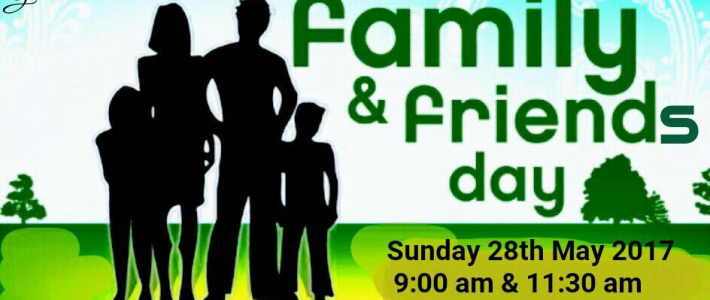FRIEND & FAMILY DAY @ PCF