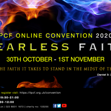 PCF ONLINE CONVENTION 2020 – Fearless Faith!