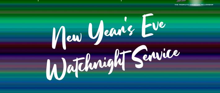 New Year's Eve – Watch Night 2020