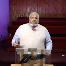 Sunday 25th April – We must live like the Christ – Minister Keith Treasure