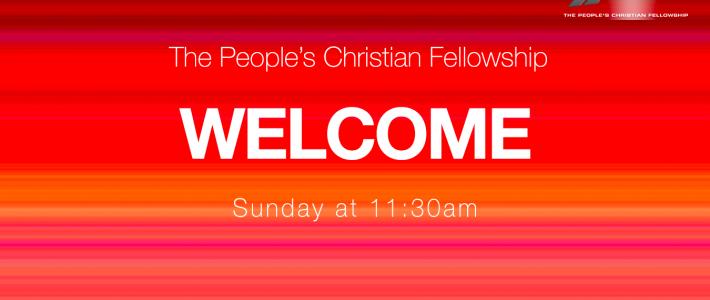 Sunday 8th August – Sunday Service
